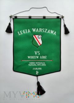 Proporzec Legia Warszawa-Widzew Łódź 2011