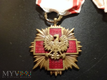 Medal Odznaka Honorowa PCK - brązowy