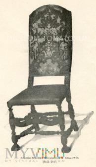 Kraków - krzesło Bractwa Miłosierdzia