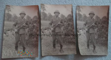 Duże zdjęcie Zdjęcie żołnierza LWP z PPS wz. 1943