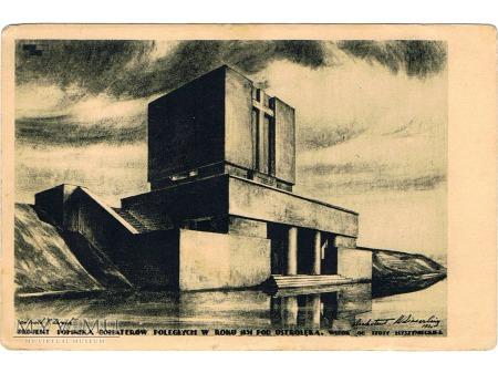 Cegiełka na budowę pomnika-mauzoleum w Ostrołęce.