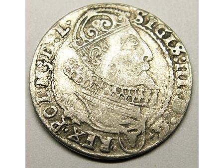 Szóstak mennica Kraków- 1626 r