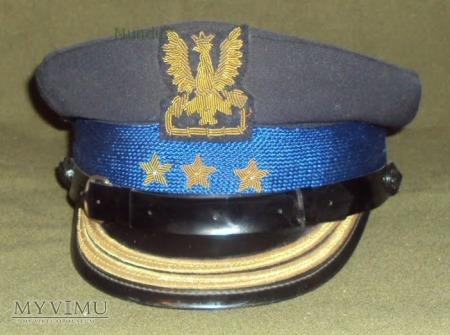 Czapka pułkownika straży pożarnej