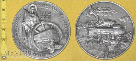 Medal kolejowy linii Kalety - Libliniec