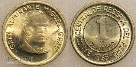 Peru, 1 CENTIMO 1985