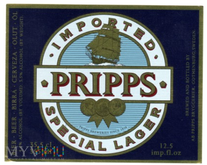PRIPPS Imported Special Lager