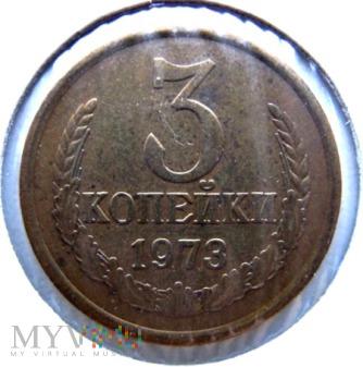 3 kopiejki - 1973 r. Rosja (Związek Radziecki)