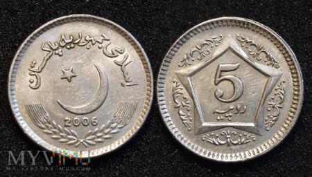 Pakistan, 5 Rupees 2006