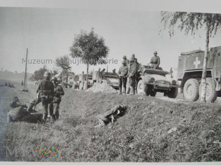 kolumna samochodów Krupp- Proteze 1939