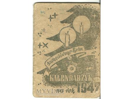 Duże zdjęcie Kalendarzyk CZPW Wojska Polskiego.1947.