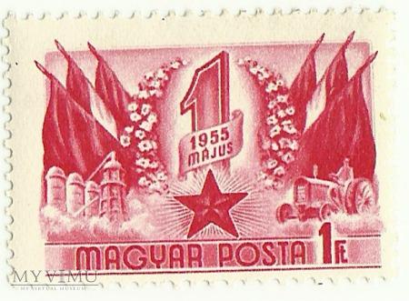 Święto 1 maja - Węgry - 1955 r.