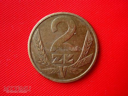 2 złote 1985 rok