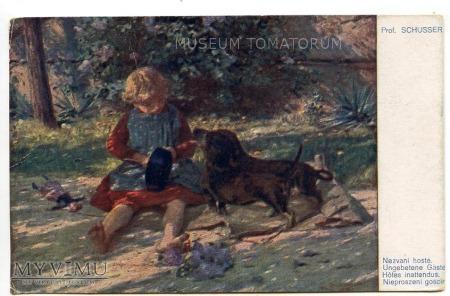 Dachshund - Jamnik przyjacielem dzieci