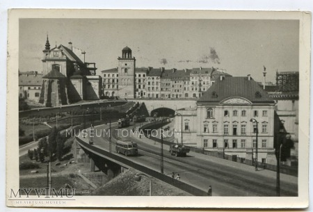 Warszawa - Trasa W-Z (Tunel od wschodu) - 1954