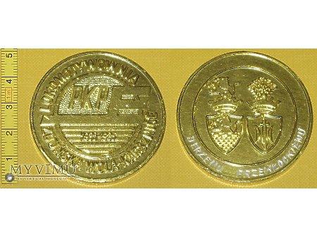 Medal kolejowy lokomotywowni Zduńska Wola Karsz.