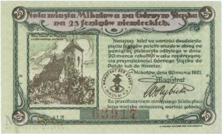 Notgeld- pieniądz zastępczy- 25 fenigów