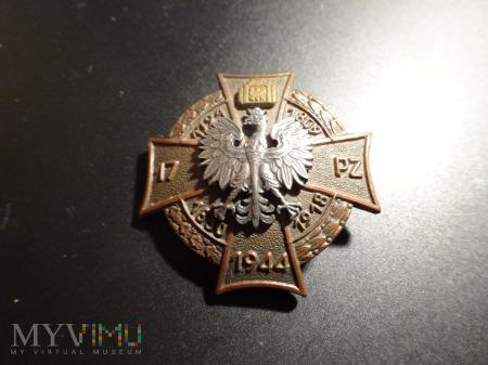 Kolejna Odznaka 17 Pułk Zmechanizowany