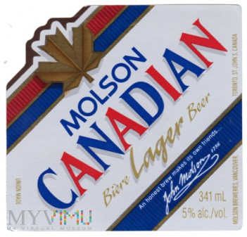 Molson Canadian Lager