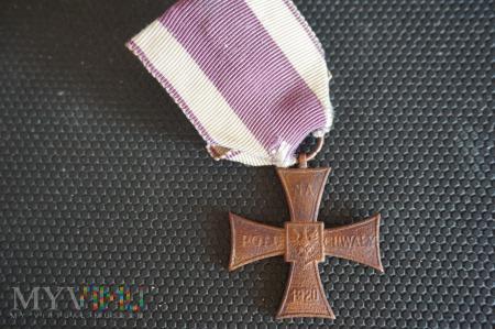 Krzyż Walecznych - z pola bitwy ? - nr: 48582