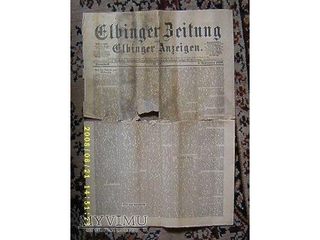 Elbinger Zeitung.