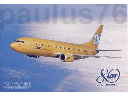 Boeing 737-45D, SP-LLC