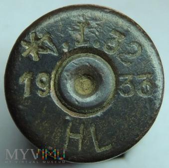 Łuska 8x58 R Krag V.I.32 33 HL 19