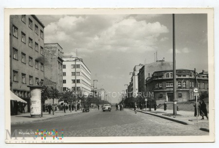 Gdynia - ulica 10 lutego - lata 50-te