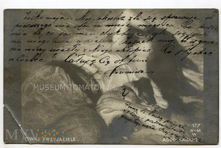 Dwaj przyjaciele - 1909