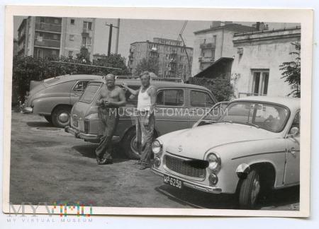 Auto retro - FSO Syrena Warszawa - lata 60-te