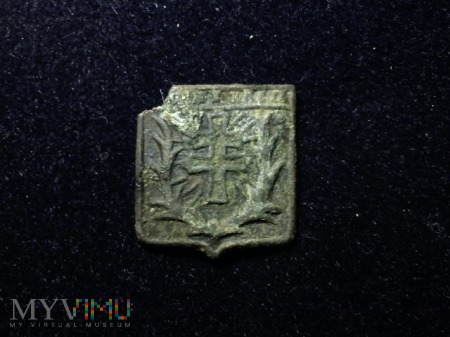 Znaczek Krzyż Lotaryński