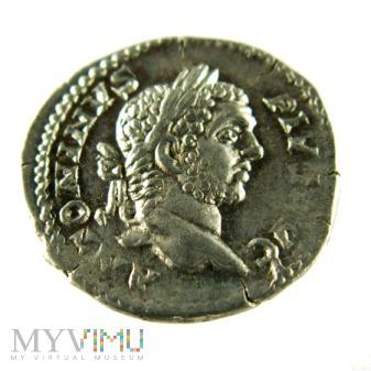 Cesarstwo Rzymskie- Karakalla denar 209 r