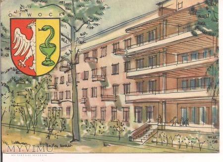OTWOCK Herb miasta Sanatorium ok 1960
