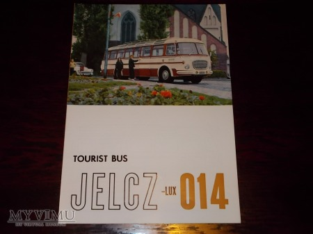 Prospekt Jelcz 014 Lux Tourist Bus