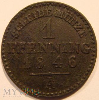 1 PFENNING 1846 A - Berlin