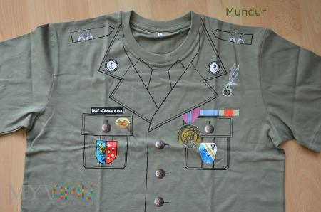 Koszulka: 20 bieg przełajowy o nóż komandosa