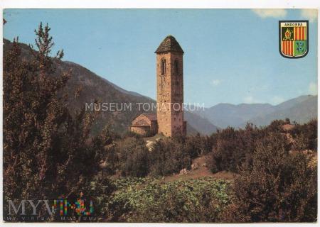 Dolina Andory - kościół -- lata 80-te XX w.