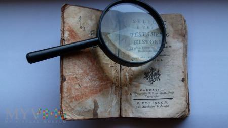Duże zdjęcie Wybrane historie z Starego Testamentu z 1784r.