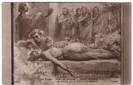 Styka - Śmierć Petroniusza - pocz. XX w.
