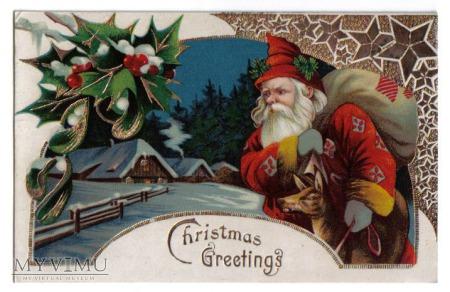 Duże zdjęcie 1907-1914 Święty Mikołaj