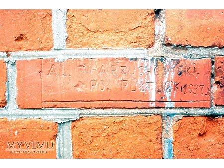 """Duże zdjęcie """"Stara Prochownia"""" - budynek A - inskrypcja #001"""