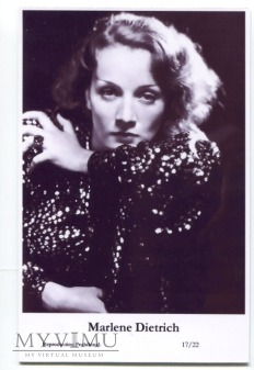 Marlene Dietrich Swiftsure Postcards 17/22