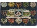 Zobacz kolekcję Pocztówki prezentujące symbolikę kwiatów, kolorów, znaczków pocztowych itp.