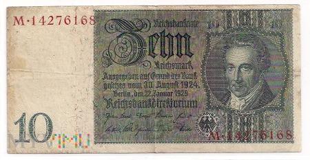 Niemcy.74.Aw.10 reichsmark.1929.P-180a
