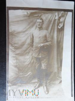 Zdjęcie żołnierza - z lat I wojny