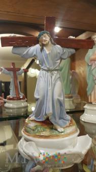 Duże zdjęcie Pan Jezus dźwigający Krzyż