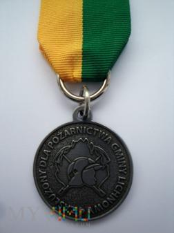 Medal ZASŁUŻONY DLA POŻARNICTWA GMINY LICHNOWY