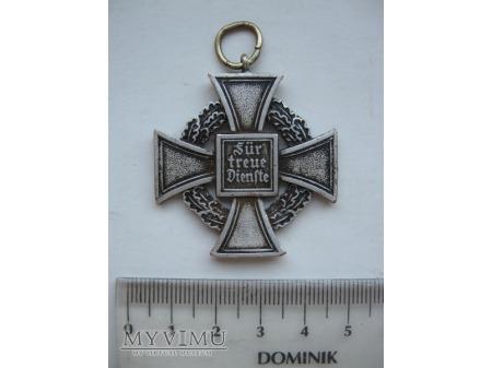 Duże zdjęcie odznaczenie Fur Treue Dienste - NIEMCY medal