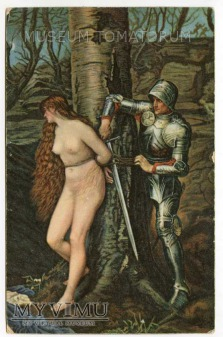 John Everett Millais - Przejeżdżający rycerz