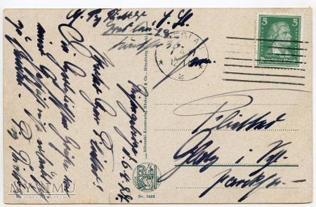 Karkonosze - Elbfall u. Baude 1927