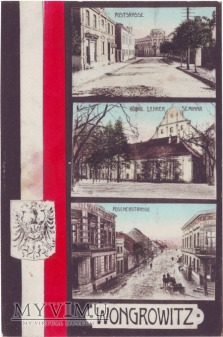 Wągrowiec - ulica Poznańska, Pocztowa, Klasztor